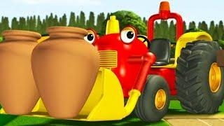 Tracteur Tom 🚜 Le Jardin Fleuri 🚜 Dessin anime pour enfants | Tracteur pour enfants