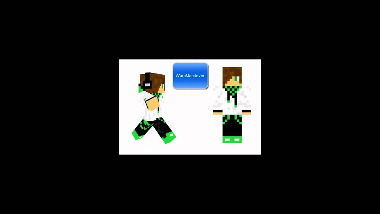 Nombres De Skin De Minecraft YouTube - Skins para minecraft 1 8 con capa