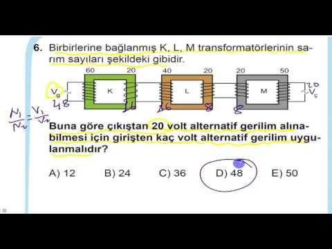 2017 MEB LYS Fizik Denemesi-2
