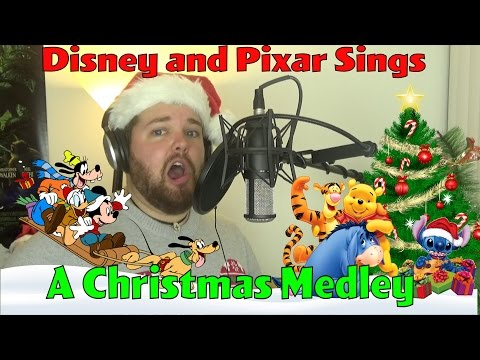 Disney and Pixar Sings A Christmas Medley