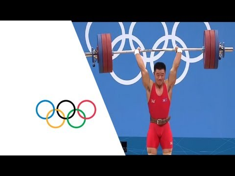 Un Guk Kim (DPR) Breaks Weightlifting World Record – London 2012 Olympics