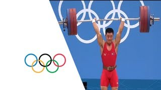 Un Guk Kim (DPR) Breaks Weightlifting World Record - London 2012 Olympics