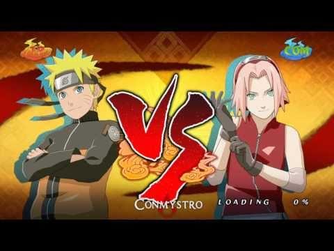 Naruto Storm 2: Naruto vs. Sakura