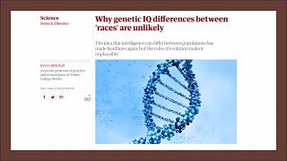 The Guardian's Newest Article on Race and IQ