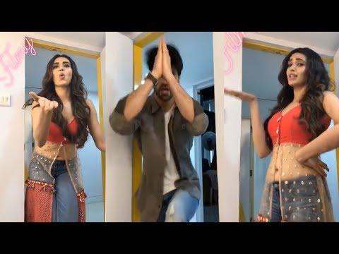 Karishma Tanna And Vivek Dhaiya Fun Time On Qayamat Ki Raat Set