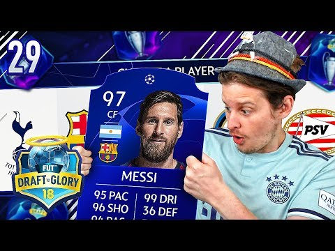 **BRAND NEW** CHAMPIONS LEAGUE FUT DRAFT CHALLENGE! DTG 29 FIFA 18 ULTIMATE TEAM