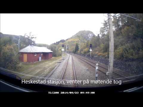 NSB, Kristiansand til Stavanger
