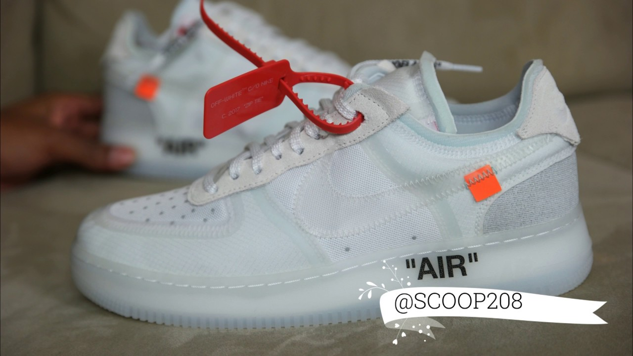 2air force 1 low off white