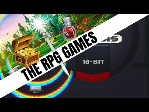 SEGA Mega Drive / Genesis: All RPG Games