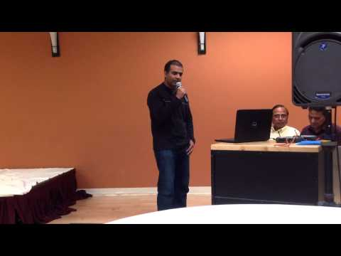 Abhinandan at ICC karaoke