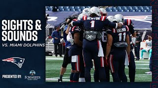 Sights & Sounds | Oฑ the Sidelines of Dolphins vs. Patriots