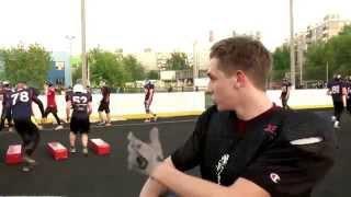 Тренировка по американскому футболу с командой BRONCOS NN