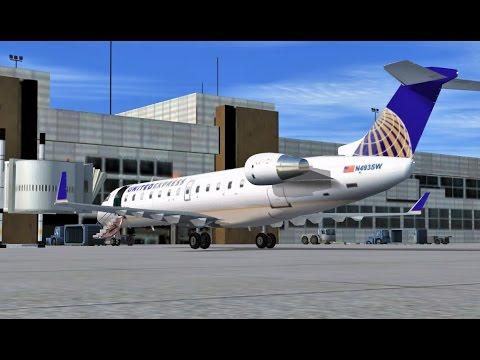 VATSIM: Shared Cockpit | Denver (KDEN) - Salt Lake City (KSLC) | CRJ-200