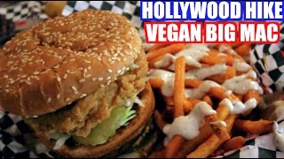 Vegan Big Mac - Doomies Veggie Grill & Hollywood Hike