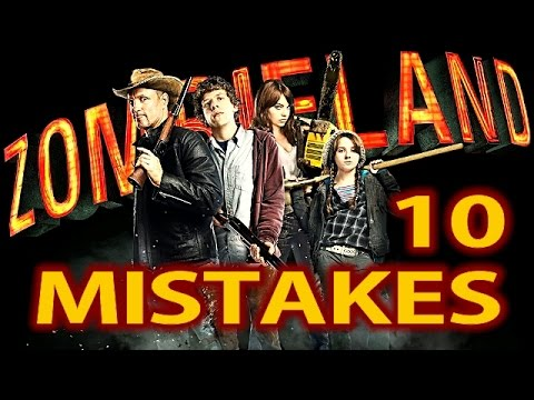10 BIGGEST ZOMBIELAND MISTAKES ✔️