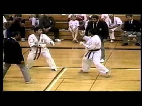 IKA 1989 World Cup Karate, Los Angeles California, Kumite Final