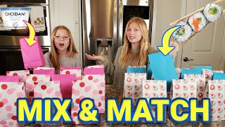 Mix and Match Food Challenge!!! Recreating Our Old Videos!!!