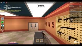 a free gun in the gun store (roblox/jailbrake