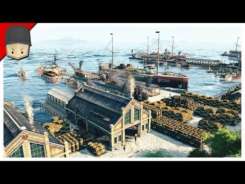 ANNO 1800 - FIRST LOOK GAMEPLAY