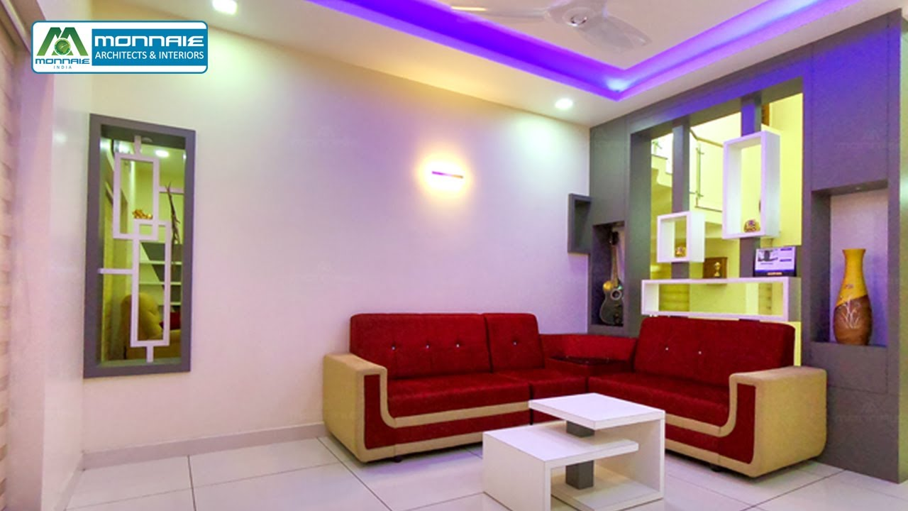 Contemporary Style Home Interiors in Kerala   Trending Home Designs    Monnaie Architects & Interiors