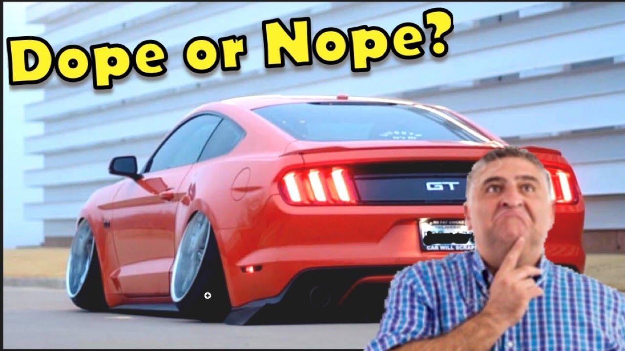 Did This Guy Just Ruin His Mustang?! (Sh*tty Car Mods Reddit)