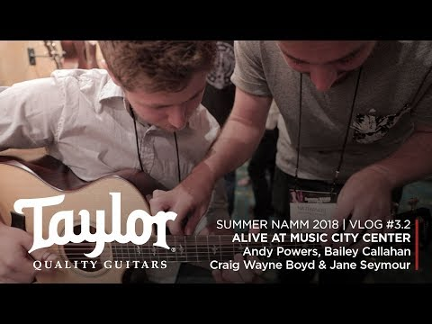 Alive at Music City Center | Summer NAMM 2018 | Vlog #3 (Part 2)