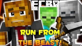 Minecraft RUN FROM THE BEAST #3
