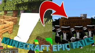 Minecraft - Epic fails, coffin dance!