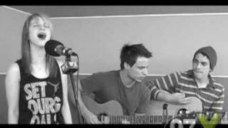 Paramore - Decode Acoustic @ 97x Green Room