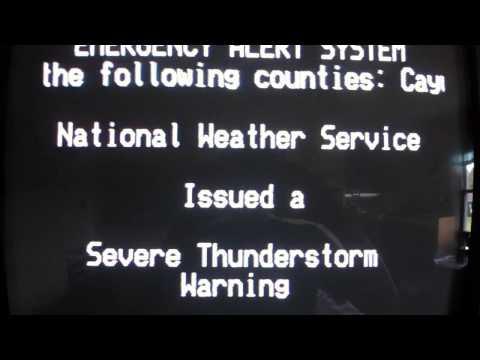 EAS- Severe Thunderstorm Warning Cayuga,Seneca NY 7/8/14