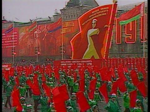 HD Soviet October Revolution Parade, 1979 Part II Парад 7 Ноября