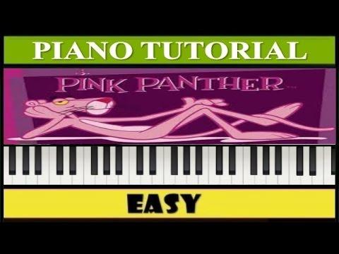 La Pantera Rosa Piano Facil Tutorial Synthesia Principiantes 2015-09 ...