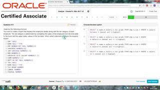Oracle PlSql Online Test NIIT Technologies Full Set