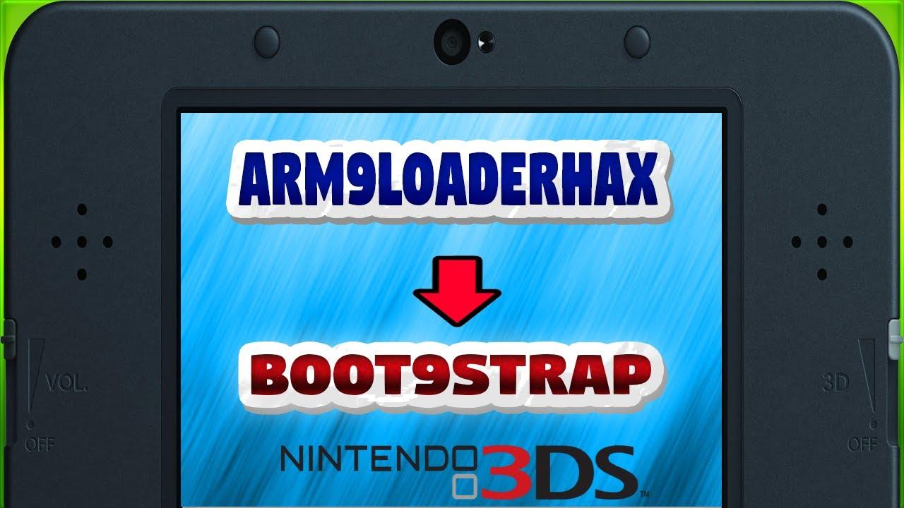 [3DS] Como atualizar do a9lh para boot9strap 1 0