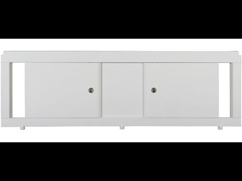 Bath screens with your hands. How to display a bath? - YouTube