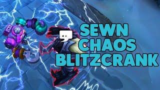 LoL Sewn Chaos Blitzcrank Skin Spotlight (League of Legends)