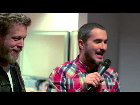 Zane Lowe Backstage with Mumford and Sons I BRITs 2013