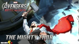 Marvel's The Avengers The Mighty Thor Vs Doctor Strange and Ice Man