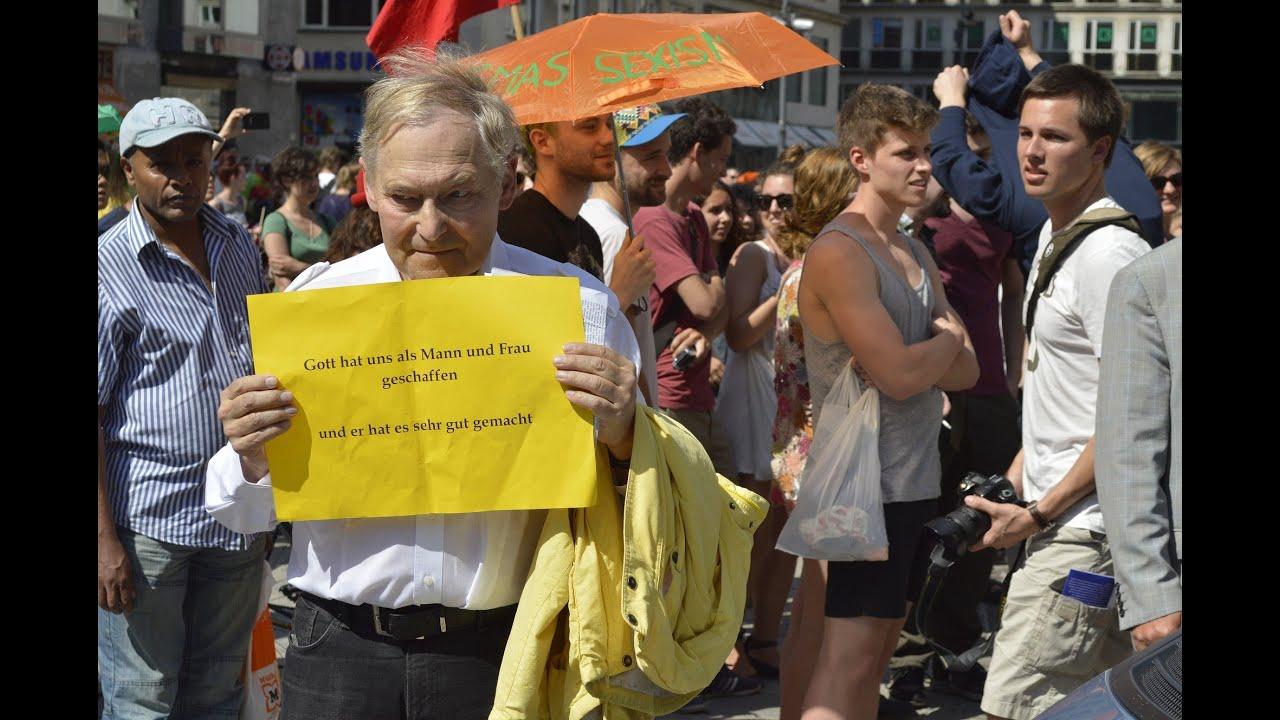 Marsch für die Familie - Homophobie in Wien - YouTube