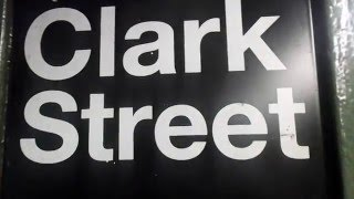 State of the track Clark Street 2/3 trains