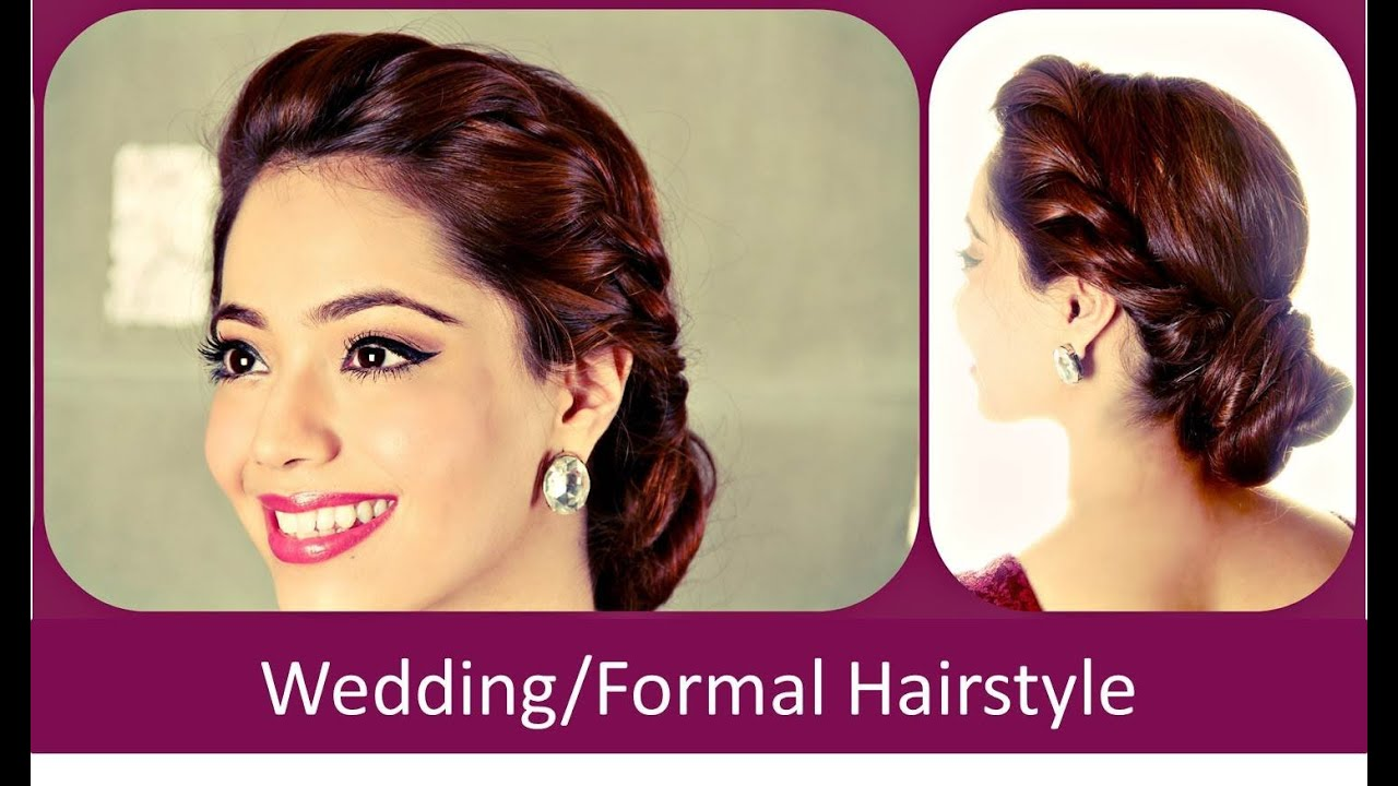 fomo : wedding/formal hairstyle (hindi) - youtube