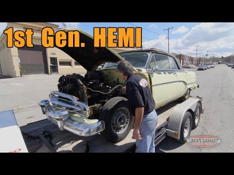 1954 Dodge Indy 500 HEMI Pace Car - Ford 390 in the Dyno Room!