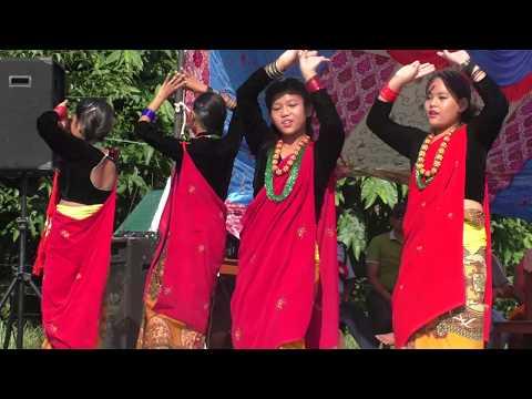 New Nepali Video Kaligandaki Syangja Dance By Birgha English Boarding School
