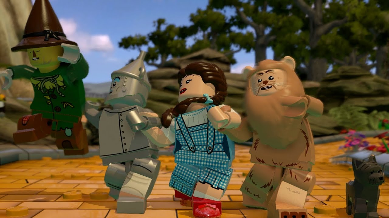 LEGO Dimensions - Part 2 - The Wizard of OZ (Follow the LEGO Brick ...