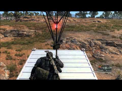MGSV - Riding a cargo container home