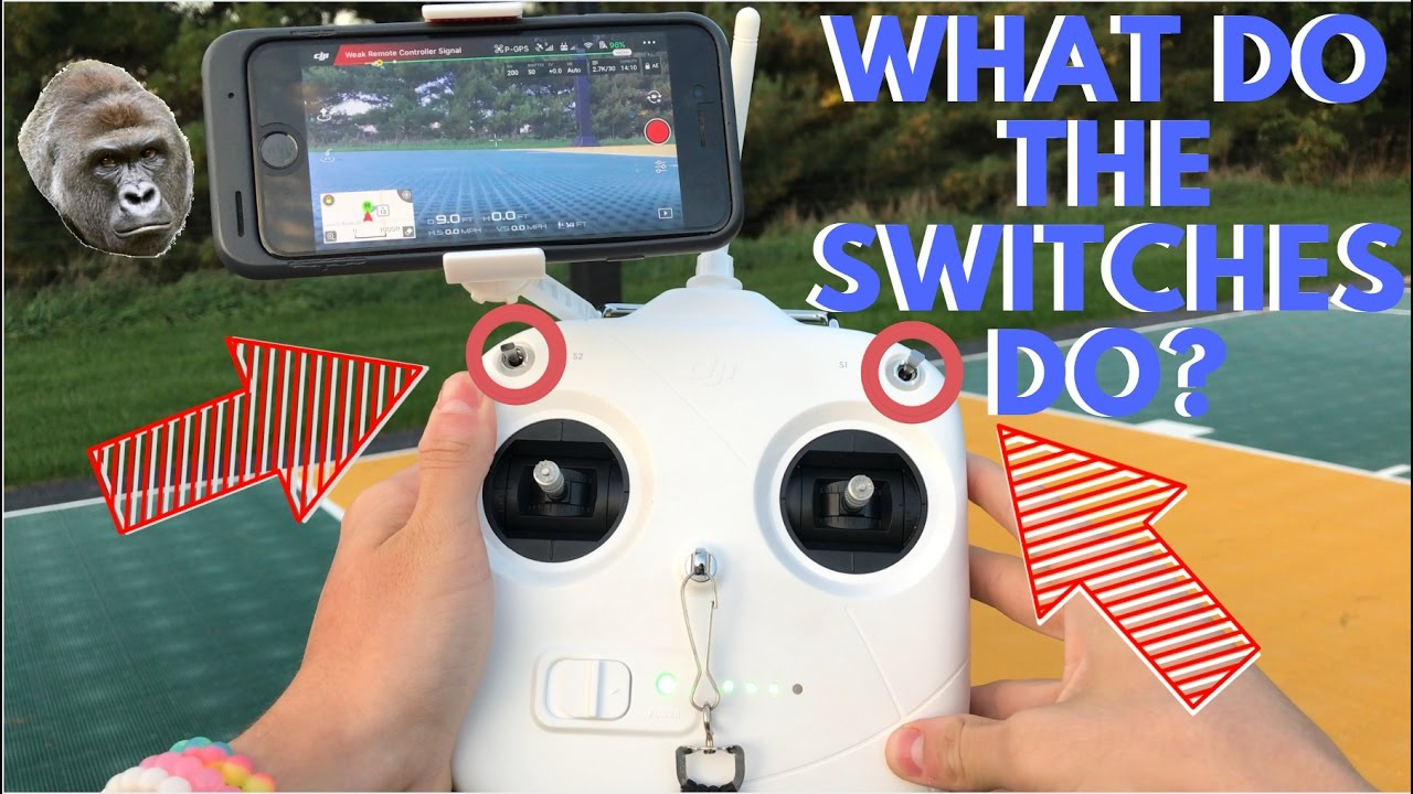 In Depth Look At The Dji Phantom 3 Controller Modes Youtube If Toggle Switch S3 Is Changed To Manual Mode Operation