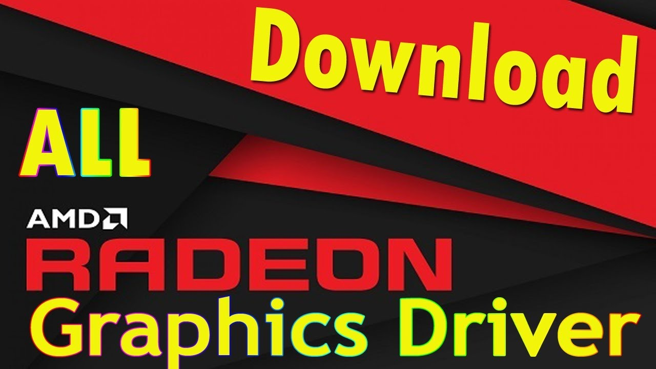 How to Download & Install AMD Radeon Graphic Driver for Laptop & PC  (Official) All Download