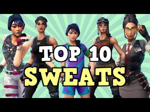 Top 10 Sweatiest Skin Combos In Season 7! (Fortnite)