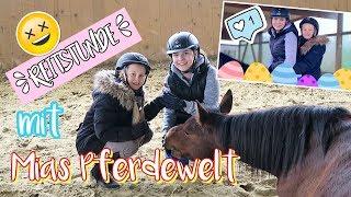 MEINE REITSTUNDE 🐎 Reiten im Stall von Mias Pferdewelt | Mavie Family Sport