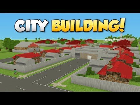 CITY BUILDING FROM SCRATCH!? - Voxel Turf Gameplay - Turf Zero Mode City Building